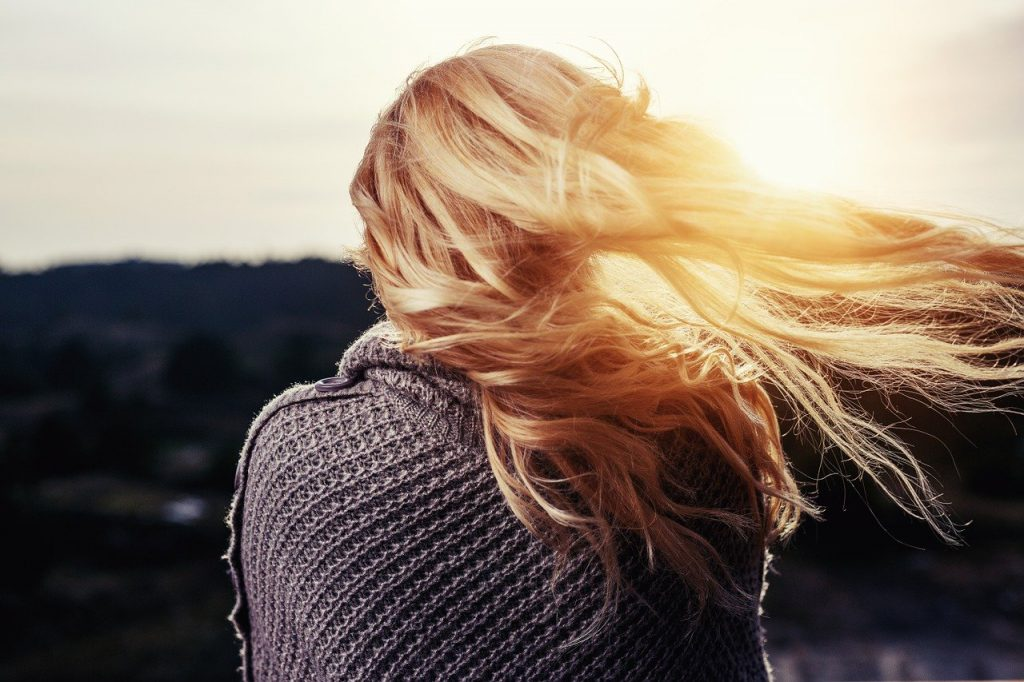 włosy po ciąży