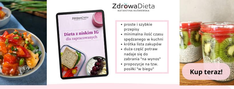Dieta z niskim IG dla zapracowanych